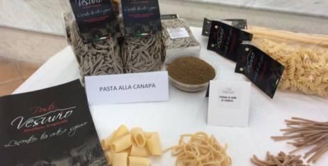 Ancora una novità dalla Pasta Vesuvio: la pasta alla canapa!